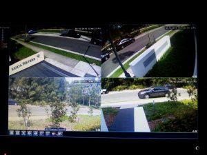 Attend Locksmiths Job Photo's 6 camera IP HD System installed strata building