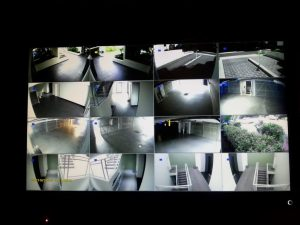 Attend Locksmiths Job Photo's 16 Camera HD SDI camera system Installed in a strata building