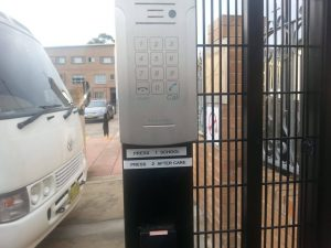 Cisco phone system inter graded into access control Attend Locksmiths Job Photo's