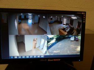 Attend Locksmiths Job Photo's HD ip camera system