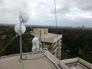 Attend Locksmiths Job Photo's Ubiquiti airfiber installed