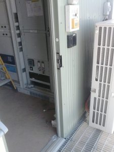 Sub-station access control system installed Attend Locksmiths Job Photo's