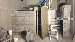 Vault door installation Attend Locksmiths Job Photo's