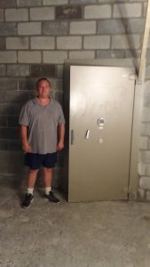 Installed Vault door Attend Locksmiths Job Photo's