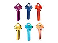 Locksmiths Belivah coloured keys Price